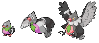 Daily Fakemon Day 72 - Busigeon by mjco