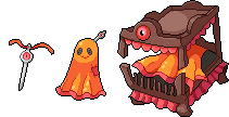 Daily Fakemon Day 81 - Canopain by mjco