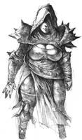 Inktober 1 - Warceress