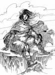 Inktober 14 - Wanderelf