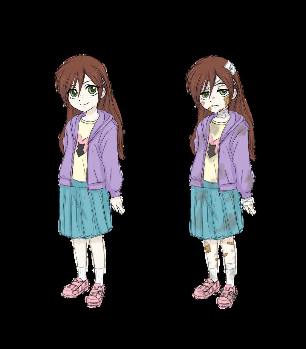 Anime girl kidnapped
