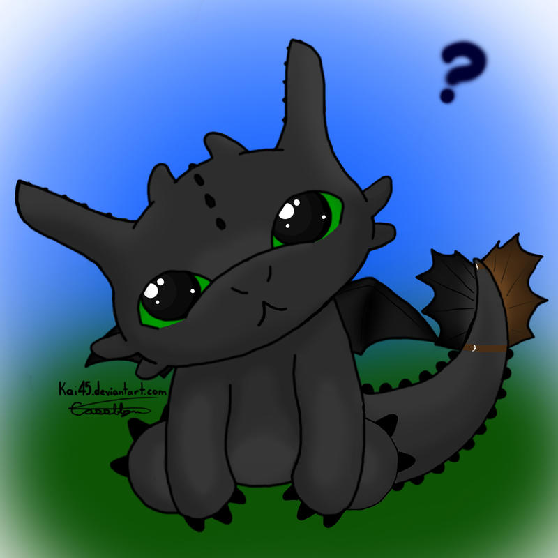 Toothless by Kai45