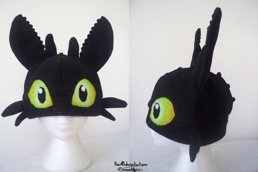 Toothless Hat 85 By Kai45 On Deviantart