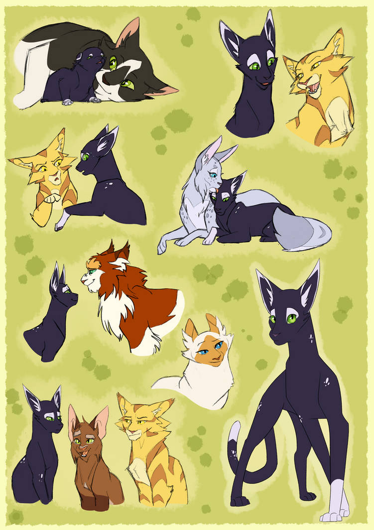 Spottedshadow-Before StarClan Battles by Simatra