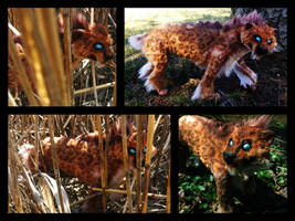 Handmade Poseable Saber-toothed Cat SOLD by KaypeaCreations