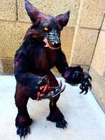 Handmade Pose-able Werewolf 35%Black Friday Sale by KaypeaCreations