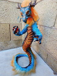 Poseable Ancient Guardian Dragon ( PRICE REDUCED) by KaypeaCreations