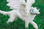 Handmade Poseable Winged Dragon (Youtube Video)