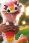 Handmade Poseable Baby StarBurst Dragon Art Doll