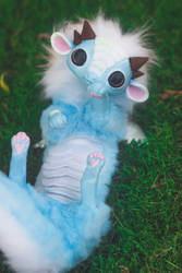 Handmade Baby Cloud Dragon Art Doll (FOR SALE) by KaypeaCreations