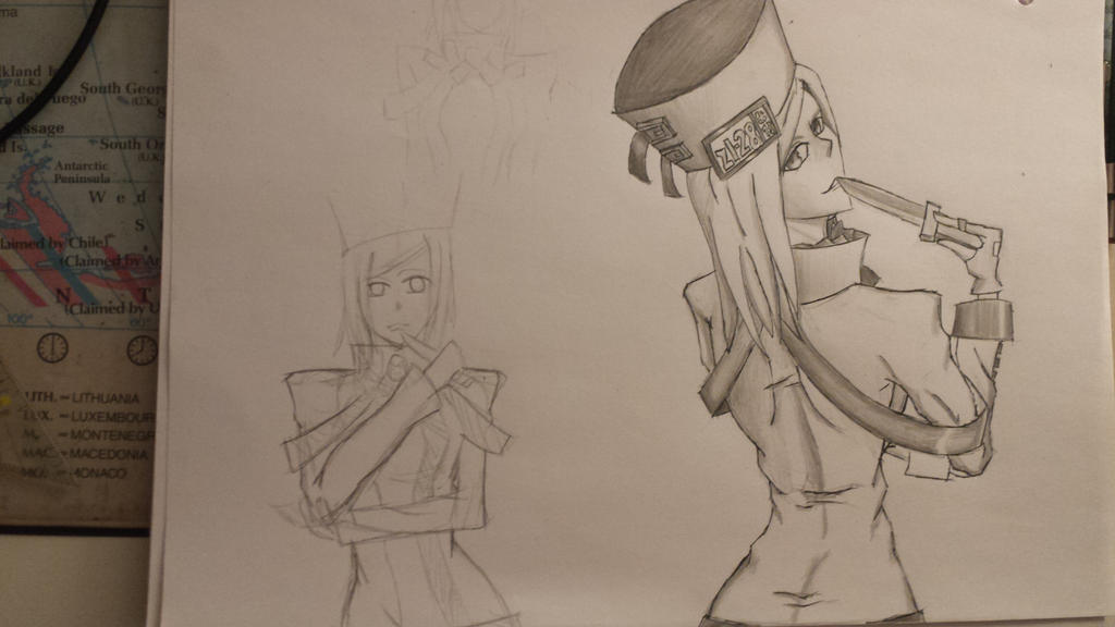 Millia rage (requested) by Butterface27