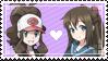 [005] Hilda x Shizuku Stamp by rukia-stamps