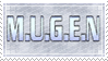 [029] M.U.G.E.N Stamp by rukia-stamps