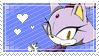 [044] Blaze the Cat Stamp by rukia-stamps