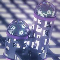 Bubblegum Prison Towers by KMSawad