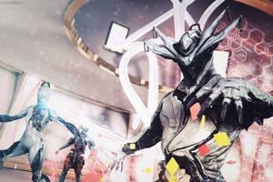 Capture Team // Warframe Codex Art Contest 3.0 by KMSawad