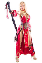 Jenny Poussin as Viking Seoni3 by ElvenTailor