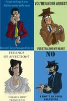 Lupin-tines by Raaynee