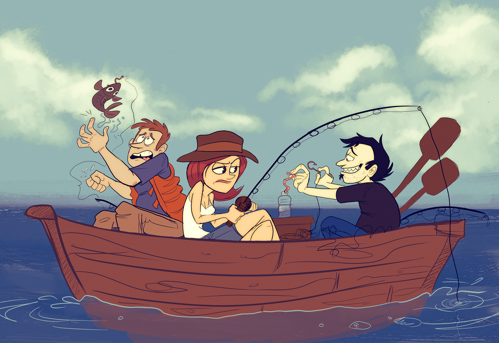 Dan Vs The Fishing Trip by Raaynee