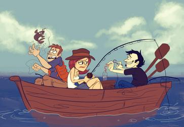Dan Vs The Fishing Trip by Raaynee