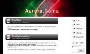 Aurora Roma Mock-up