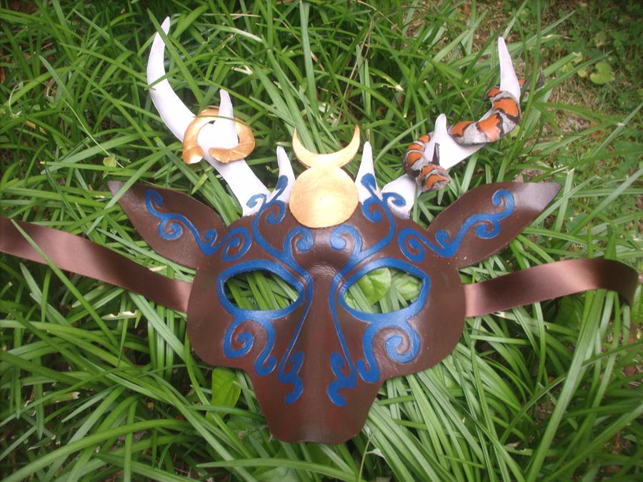 Deer god mask