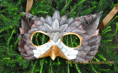 Griffin mask by SilverCicada
