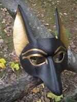 Anubis mask by SilverCicada