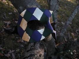 Madri Gras harliquin by SilverCicada