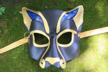 Lapis Bast mask by SilverCicada