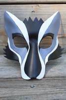 Leather Kabuki Wolf Mask by SilverCicada