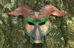 Greater Earth Dragon Leather Mask