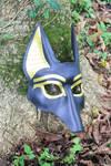 New anubis mask by SilverCicada