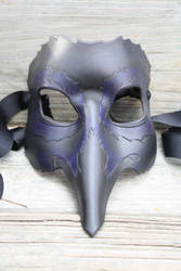 Leather Crow Mask by SilverCicada