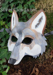 Leather Wolf Mask v2 by SilverCicada