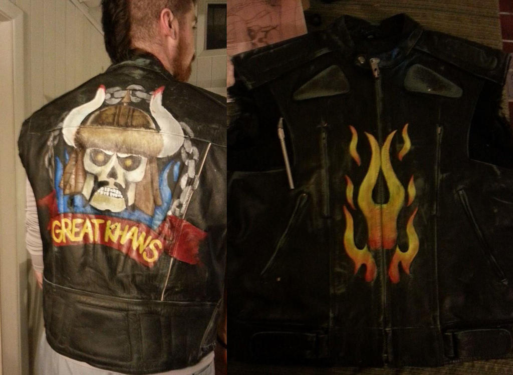 Great Khans vest Fallout New Vegas by SilverCicada