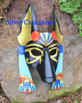 Greater Anubis Leather Mask