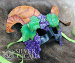 Bacchus Leather Mask by SilverCicada