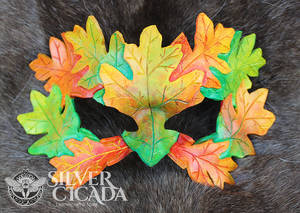 Fall Green Man Mask V2