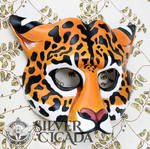 Jaguar Leather Mask by SilverCicada