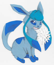 Glaceon Cut-Out