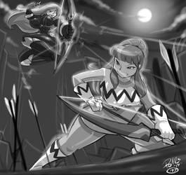Battle of the Bows - Shonuff44 by Strangerataru