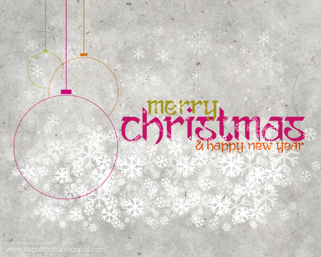 Merry Christmas and Happy New Year 2012 by lalitkala