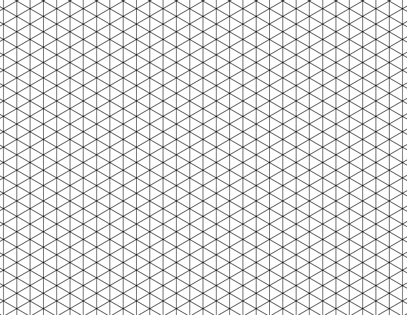 Isometric Grid Drawings Pictures
