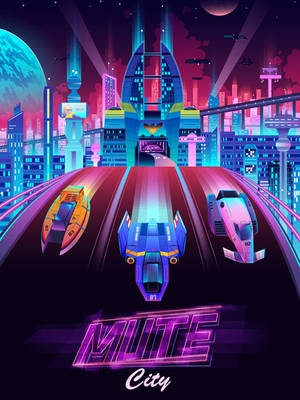 Mute City by jmardesigns