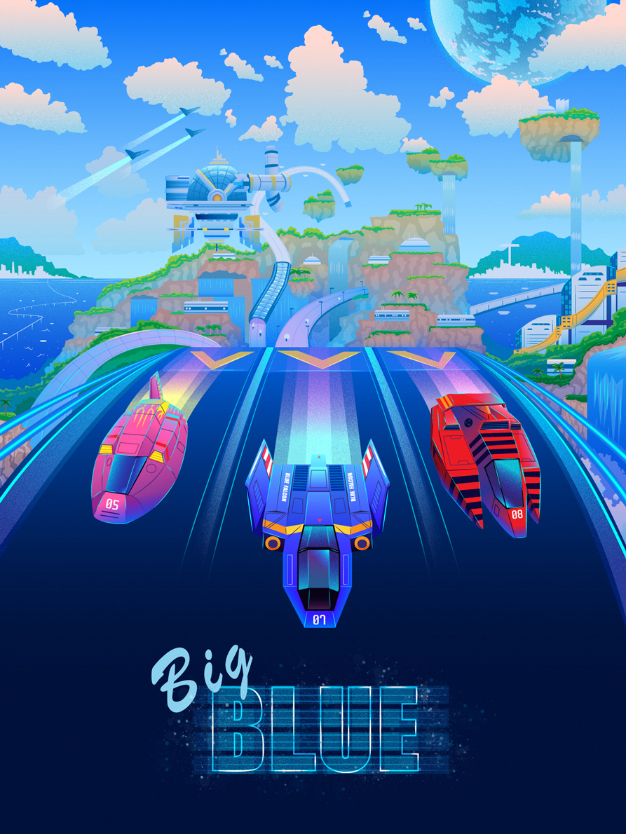 f zero big blue wallpaper - photo #19