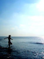 Beach by idrawnaked