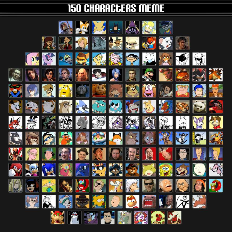 150 Characters Meme by saffronpanther