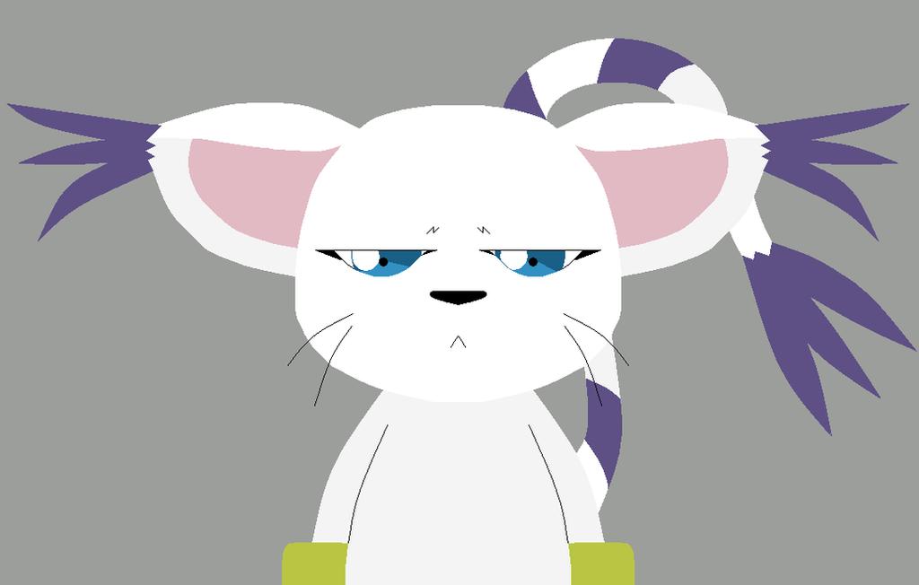 Unimpressed Kitty by saffronpanther