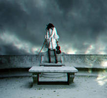 Suicide of Music - 3d Anaglyph